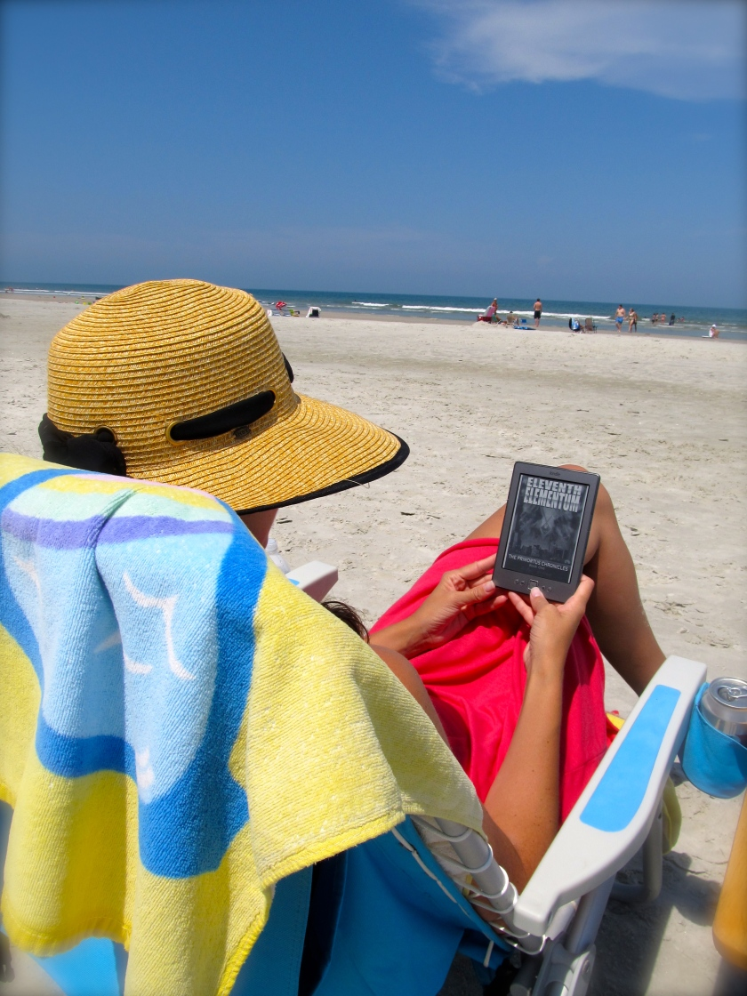 Beach Reading... Ebook vs Paperback?